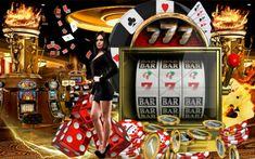 Clip art casino illustration