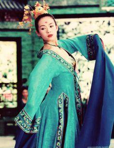 Xiao Mei portrayed by Ziyi Zhang