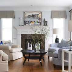 Living Room Blue Grey Design, Pictures, Remodel, Decor and Ideas