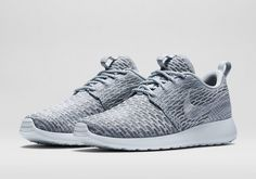 Who needs 50 shades when you can have just one fabulous gray? Roshe Flyknit by Nike.