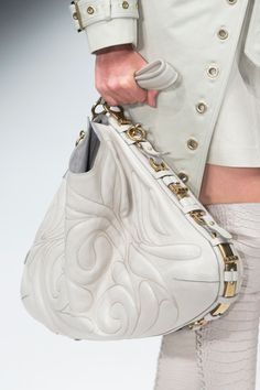 Salvatore Ferragamo White Handbag from Spring/Summer 2013 collection