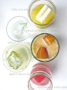 Recipe: Flavored Ice Cubes