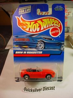 Hot Wheels BMW M1 Roadster Red 2000 100 BP