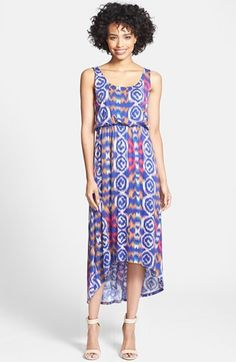 a33196962c7 FELICITY  amp  COCO Print High Low Maxi Dress (Regular  amp  Petite)