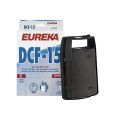 Eureka Filters capture helps household dust. Contains 1 filter per pack