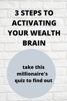 Activate your wealth brain here. Discover what is holding you back from wealth and success Make Money Online, How To Make Money, Self Made Millionaire, Secret Quotes, Money Affirmations, How To Become Rich, Mindset Quotes, Financial Success, Subconscious Mind