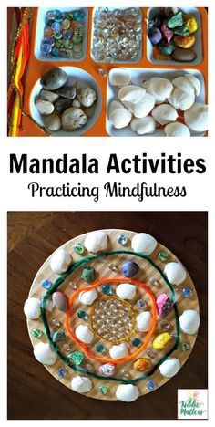Social Emotional Learning Activities Using A Mandala – Kiddie Matters Mandala Therapy Activities allow kids to practice mindfulness in a fun, creative way. Children learn valuable coping skills from working with mandalas. Group Therapy Activities, Counseling Activities, Learning Activities, Kids Learning, Mindful Activities For Kids, Coping Skills Activities, Time Activities, Creative Activities For Children, Group Counseling