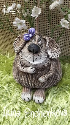 Pottery Animals, Ceramic Animals, Clay Animals, Clay Art Projects, Polymer Clay Projects, Clay Crafts, Ceramic Clay, Porcelain Ceramics, Porcelain Tiles