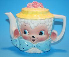 Cute little lamb teapot