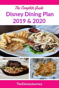 The complete guide to the Disney Dining Plan. What is the Disney Dining plan? How does the dining plan work? Includes pricing for 2019 and 2020. #disneyworld #disneydining #disneydiningplan #disneydiningplancost #disneyvacationplanning