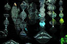 Spinning Cosmos, Montevideo. Paul Friedlander, kinetic light art
