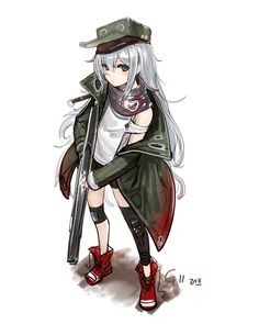 Creative ideas in crafts and upcycled, innovative, repurposed art and home decor. Private Military Company, Enjoy Girl, Boat Girl, Anime Military, Girls Frontline, White Hair, Me Me Me Anime, Anime Characters, In This World