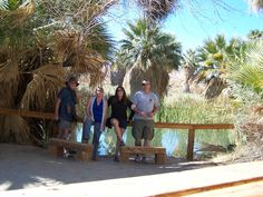 There is nothing more fun than having your family with you.  Me, Darcy, Shani and Jason at the Palm Oasis in Thousand Palms outside of Desert Hot Springs.