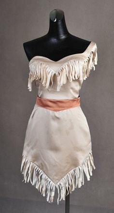 Pocahontas Native American Gown Dress Cosplay by AddictedToMagic