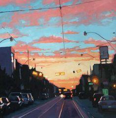Toronto artist, Brian Harvey