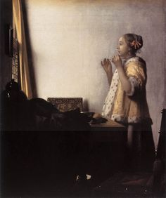 Johannes Vermeer, Woman with a Pearl Necklace