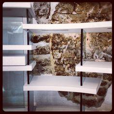#brick #wood #glass