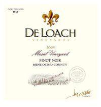 2009 DeLoach Vineyards Masút Pinot Noir 750 mL #wine #winelabels #redwine #whitewine