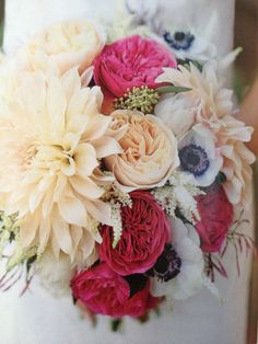 I could totally go with these flowers for my bouquet. Just add in some jasmine and tuberose and we'll be good to go!