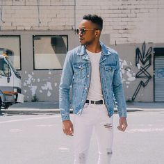 "3,879 curtidas, 10 comentários - Forever 21 Men (@forever21men) no Instagram: ""Fresh denim on denim @travisdharrison #Forever21Men (Shop link in bio)"""