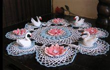7ya.ru. Photo albums. Daisies. Tablecloths and crocheted