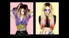 Image result for lilac hair dip dye