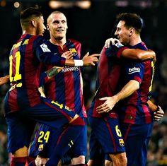 22/11 Barca 5 - Sevilla 1