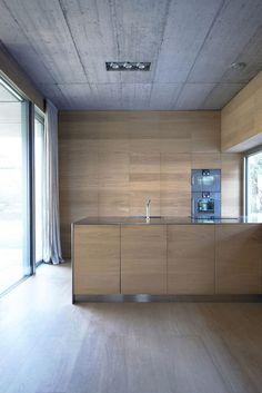 Villa Criss-Cross in Slovenia by OFIS Architects