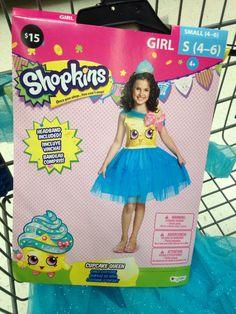 Shopkins Strawberry Kiss Classic Child Halloween Costume - Walmart ...