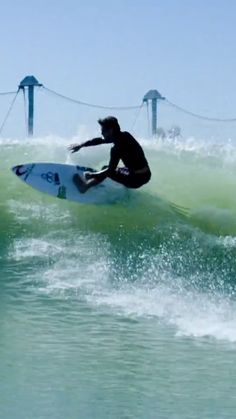 Conner Coffin surfing chest-head waves in Lemoore, California. surf video created by Aaron Lieber in Lemoore California, Red Digital Cinema, Surfing Destinations, Surfing Tips, Wave Pool, Kelly Slater, Skate Surf, Beautiful Ocean, Surfs Up
