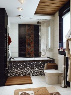 Smart Bathroom Designs For Small Bathrooms Black White Brown