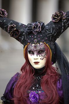 Venice Carnevale | Flickr - Photo Sharing! ✏✏✏✏✏✏✏✏✏✏✏✏✏✏✏✏ FrenchJEWELRYVintage…