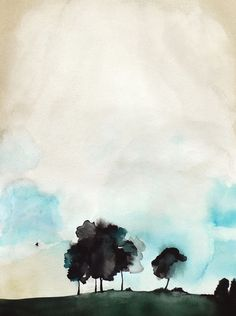Reminds us of Benjamin Moore's Breath of Fresh Air: Fragile by Christine Lindstrom on Artfully Walls color water