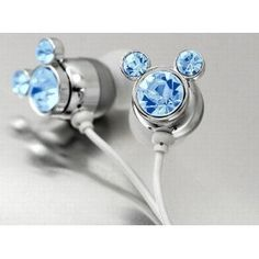 Blue Crystal Mickey Cartoon Cute Lovely Fashion Earphone headphone For Apple iPod MP3 player by Earphone Be the first to review this item | Like (0) Price: $6.95