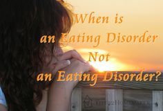 When is an Eating Disorder NOT an Eating Disorder?  - TItus 2 Homemaker #t2hmkr #anorexia #bulemia #health