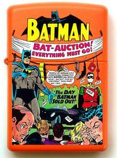 Batman Custom Zippo Design # 2