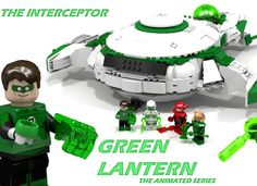 Why this Model? I love DC Comics and especially Green Lantern, that's why I also really loved Green Lantern the animated Series. I think the Interceptor is a very important ...