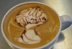Even our latte has World Cup Soccer Fever! Goooooaaal!!! #worldcup2014