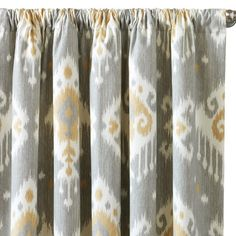 Love this pattern. Downey Curtain Panel Set #laylagrayce #bunnywilliamshome