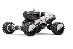 Mars 9 Rover 3/4 view