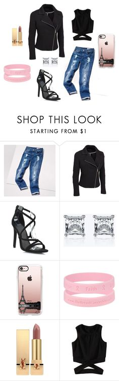 """Paris"" by annmcneilly on Polyvore featuring Tommy Hilfiger, Casetify, Yves Saint Laurent and plus size clothing"