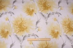 The Fabric Cellar-Clearance :: 9.3 Yards Richloom Tranquility Printed Cotton Drapery Fabric in Lemoncello - Fabric Guru.com: Fabric, Discount Fabric, Upholstery Fabric, Drapery Fabric, Fabric Remnants, wholesale fabric, fabrics, fabricguru, fabricguru.com, Waverly, P. Kaufmann, Schumacher, Robert Allen, Bloomcraft, Laura Ashley, Kravet, Greeff