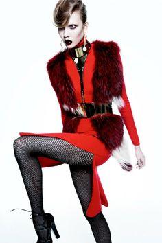 Karlie Kloss: Numero October '11.(6)_夅介石 - 美丽鸟