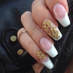 Handmade Nailjewelry Nailjewellery Gold Nailart Nails Nailcharms Metalwork