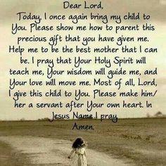 Prayer of a Mother