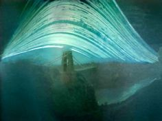 Photographer Justin Quinnell created these eerily beautiful photos with a pinhole camera fashioned from a soda can. Each image represents a six month exposure. The blurred lines are the sun.