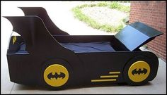 Kids Theme Beds for Kids Theme Bedrooms Boys Theme Beds - Girls Theme Beds - Toddler Theme Beds - Adult Theme Beds Finding it ha. Batman Kids Rooms, Batman Room, Superhero Room, Cama Batman, Batman Bed, Boys Bedroom Furniture, Kids Bedroom, Princess Carriage Bed, Unique Kids Beds