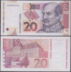 Croatia 20 Kuna, 2001, 39,