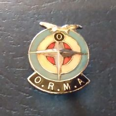 Racing Heritage Badges. Owen Racing Motor Association badge.                 1950s. (Very rare)                                   Price $125