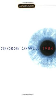 1984 by George Orwell. Power through control, and subjugation through freedom, George Orwell takes one on a journey of believable struggle that makes one yearn to break free. 100 Books To Read, I Love Books, Good Books, My Books, George Orwell, Book Club Books, The Book, Book Lists, Books Everyone Should Read